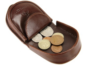 Visconti Horseshoe Design Mens Womens Leather Coin Tray Purse Wallet - TRY6