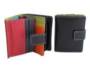 Multi-coloured Zip Purse/Wallet style 7-142