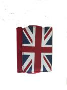 Red base Union jack purse