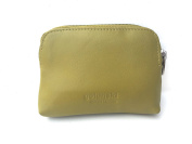 Soft Leather Zip Top Coin and Credit Card Purse