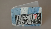 Question Everything Oyster Card Holder