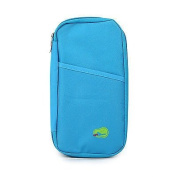 Ready2Go ducomi® Travel Wallet for Passport, Tickets at hand Multicolour Light Blue