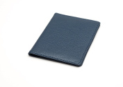 Luxury Leather Multi purpose Card Wallet, Ideal for Oyster Card/Travel Pass Holders - Navy Blue