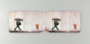 Kids on the Rain Oyster Card Holder