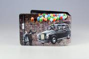 Black Cab Up Oyster Card Holder