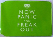 Panic and Freak Out oyster card holder