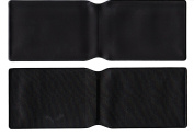 20 x Black Plastic Oyster Card Wallet / Credit Card Holder / ID Card Wallet / Business Card Holder / Travel Pass Cover - MADE IN THE UK