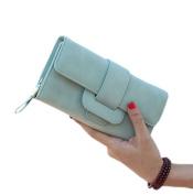 GGTFA Women Long Leather Wallet Purse Credit Card Clutch Holder Case
