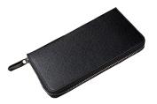 GGTFA Men's Vintage Zipper Wallets Creidcard Holder Money Clip Organiser
