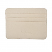 VALYRIA Soft Leather Business Card Credit Card Holder Wallet