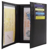 Elegant calf leather ID and credit card holder MJ-Design-Germany in 3 different colours
