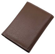 Elegant ID and credit card holder with contrast stitching MJ-Design-Germany Made in EU in different colours