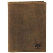 Greenburry Vintage ID Card Holder Leather 12 cm braun