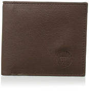 Mi-Pac Matte Dark Brown Wallet - Brown
