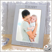 Beautiful Gift for a special MUMMY 15cm x 10cm Photo frame with a personal engraved messgage
