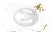 Difrax DIFR3 Soother Natural Newborn Pacifier, Gold