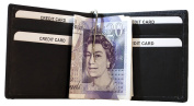 Genuine Leather Slim fit, 6 ID/Credit Card Slots, With Money Clip,