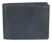 Black Great Quality Genuine Leather Wallet Kabana
