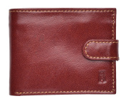 Rowallan Mens Smooth Leather Flip Out Wallet