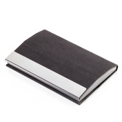 Troika Business Card Case, 10 cm, Grey CDC15-04/ST