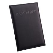 Women Business Card Holder Travel Passport Holder PU Leather Passport Cover ID Credit