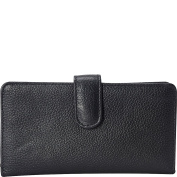 Buxton Women's Huston Pik-Me-Ups Chequebook Cover Wallet