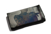 High Quality Faux Leather Tobacco Pouch - Smoking Girl With Tattoos