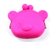 Silicone Coin Purse Piggy Rubber Wallet Key Holder Storage Bags Small Card