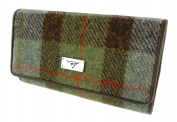 Ladies Authentic Harris Tweed 100% Wool Tiree Purse - LB2106