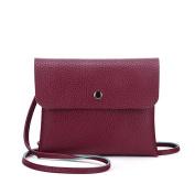 Hunpta Zipper Coin Purse Women Shoulder Bag Tote Messenger Leather Crossbody Satchel Handbag