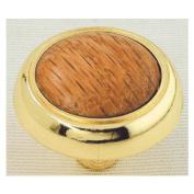 Ultra 1-.60cm . Polished Brass Traditions High Density Zinc With Oak 41617