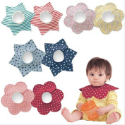 Waterproof 360 Degree Rotating Baby Bibs Soft Combed Cotton Toddler Infant Feeding Nursery Towel