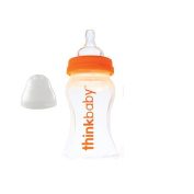Thinkbaby 1204890 Thinkbaby Baby Bottle with Stage A Nipple (0-6 Months) - 270ml
