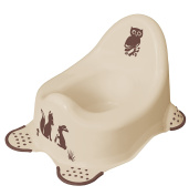 "'Keeeper 1864887613800 Adam ""Forest Babytopf with Anti-Slip Function, Cream/Beige"