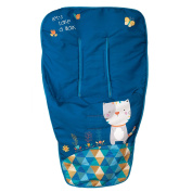Babyline Kitty Dots Buggy blue
