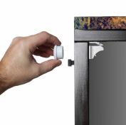 Magnetic Child Safety kitchen cupboard Locks-4 locks, 1key. Easy to instal magnetic locks