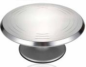 Aluminium Alloy Baking Tools Cake Turntable 360 degree Rotating Cake Turntable