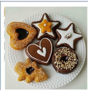 Set of 6 Assorted Pretend Play Donuts Set,Soft Petit Fours With Removable Icing
