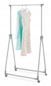Whitmor Foldable/ Collapsible Garment Rack, Silver Metal