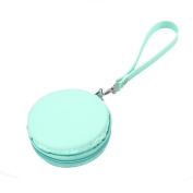 TankerStreet Purse Bags for Women Girls Kids Ladies Rubber, Silicone Small Coin Purse Wallet Round Coin Pouches Bags Case Plastic, Comestic Makeup Keys Case Wallet Bags Holder with Keychain Loop