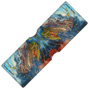 Stray Decor (Expressive Painting) Bus Pass Wallet / Travel, Credit or Oyster Card Holder