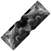 Stray Decor (Happy Cat) Bus Pass Wallet / Travel, Credit or Oyster Card Holder