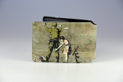 Banksy Girl Search Soldier Oyster Card Holder
