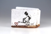 Scampi Heart Watering Girl Oyster Card Holder