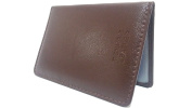 AKSHIDE® Soft Nappa Leather Bus Holder,Train Pass,Driving Licence Holder,Oyster Card Holder