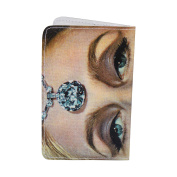 Diamond Lady Vintage Business, Credit & ID Card Holder