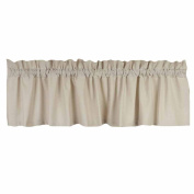 Home Collection by Raghu Osenburg Cream Valance, 180cm by 39cm