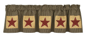Park Designs Country Star Lined Valance, 150cm x 36cm