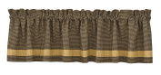 Park Designs Country Star Lined Border Valance, 180cm x 36cm