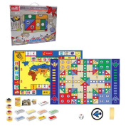 Children Board Games Toys Develop Brains, Double-sided 158x98 boxed flying blanket + The rich